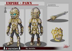 Dissension - Empire Pawn Concept by davislim