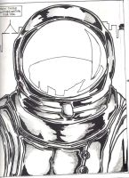 The Man in The Space Suit by thewickedrobot