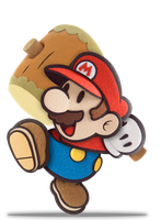 SSB5 Paper Mario - Default by ZaneTheDragon
