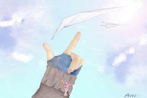 Fly high by miku-anni
