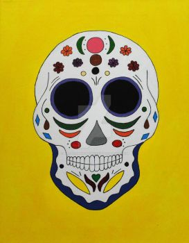 Sugar Skull #2 by Black-Arrow-Workshop