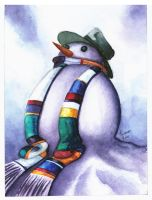 4th Snowman by LorranNery