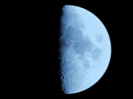 Waxing Gibbous by MitchellLazear