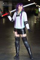 Saeko Busujima Cosplay (Graceful as she stands) by SapphireEagle