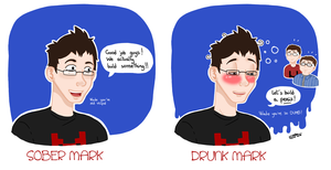 Drunk Mark-craft by Mangaka29