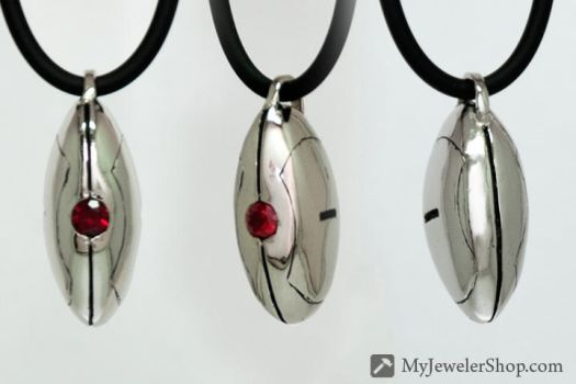 Portal Sentry Turret Pendant by Sketchy-Stories