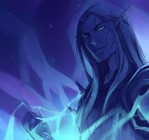 WoW: Death Knight Lureidys Ice by Altana