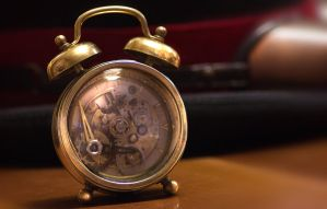 Little Steampunk Alarm Clock by Giudy-chan
