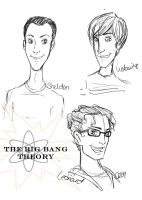 The Big Bang Theory by c-t-supahfly