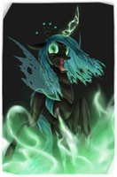 Queen Chrysalis by baitoubaozou