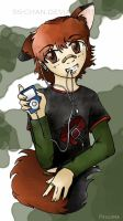 ....ipod dogboy.... by SS-Chan