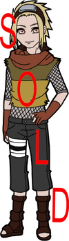 RESELL Adoptable - Male Shinobi SOLD by mistressmaxwell