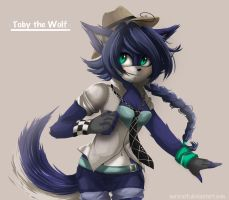 AT: Today the wolf by FairyGB