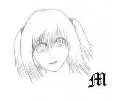 Misa sketch by M by MarioTheArtistM