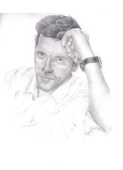 Hugh Laurie by emmylou1012