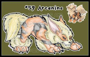 Pokemon: Arcanine 2012 by AirRaiser