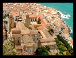 Over The Roofs - Duomo - Cefalu - 2 by skarzynscy
