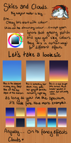 Skies Tutorial by WhiteLionsOrchard