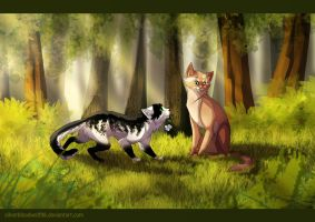 once in a grove :.commish.: by Silverbloodwolf98