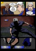 Simulacrum, Page Five by JeffShoemake