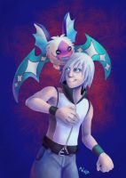 Gift - Riku and Seeker by LynxGriffin