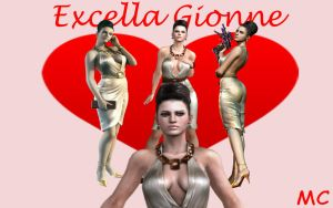 Excella Gionne Wallpaper by The-Mind-Controller