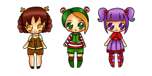 Point Adoptables Batch 1 by amy1005
