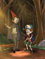Over the Gravity Falls by Amrock