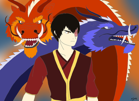 The Firebending Masters by KyotaWolf