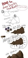 How to draw ROCKS THAT ROCK! by Flashpelt1