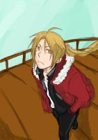 Edward Elric by Zelhime