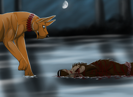 ''poor thing ...'' by wolfhound56200