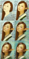 Mulan Elf Girl - Step by Step by Maximko