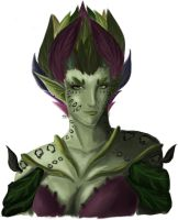 Female Sylvari by elicottyn