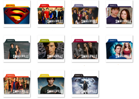 Smallville Folder Icons by nellanel