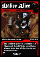 PBV - TCG - Malice Alice by PlayboyVampire