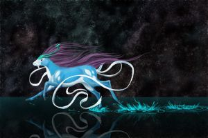 Suicune by Amadare90