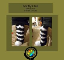 Foxifly's Tail (Commish) by Star-Shade
