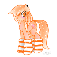 Trade - Peachy Petals by BusyBeingClever