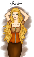 Annabeth with a square face by Nanaa13