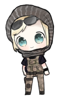 rainbow six siege valkyrie png by CottontailTOKKi