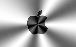 Apple's Aluminum Wallpaper by iTomix