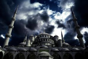 Sultan Ahmet Blue Mosque 2 by gencebay55