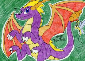 Spyro and Sparx by FlygonPirate