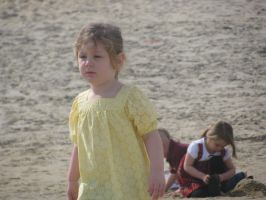 Zoey on the beach by The---Storyteller