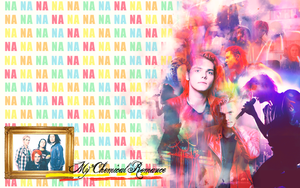 My Chem wallpaper 006 by saygreenday
