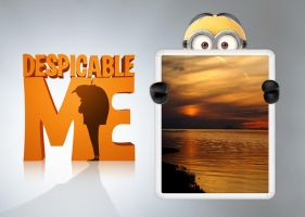 Minion Photo Frame HD for xwidget by jimking