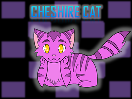 Cheshire Cat Wallpaper by TigerLillyKitty