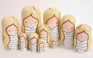 Angelic Russian Dolls 2 by ponychops