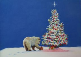 Beary Christmas by brownietrout